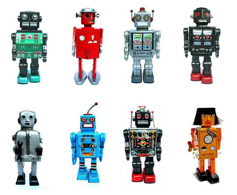 Claudia Chan Shaw robot collection