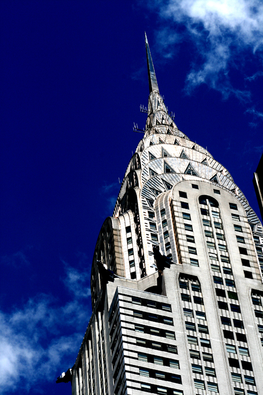 Chrysler Building by Claudia Chan Shaw. New York.