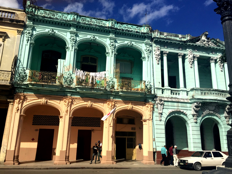 Colonial Havana. Photo courtesy Liz Gibson