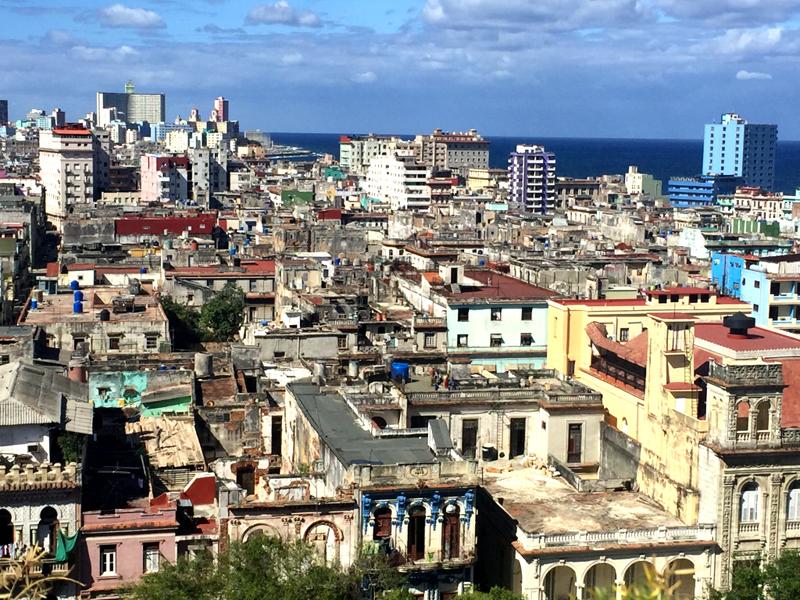 Havana rooftops. Photo courtesy Liz Gibson