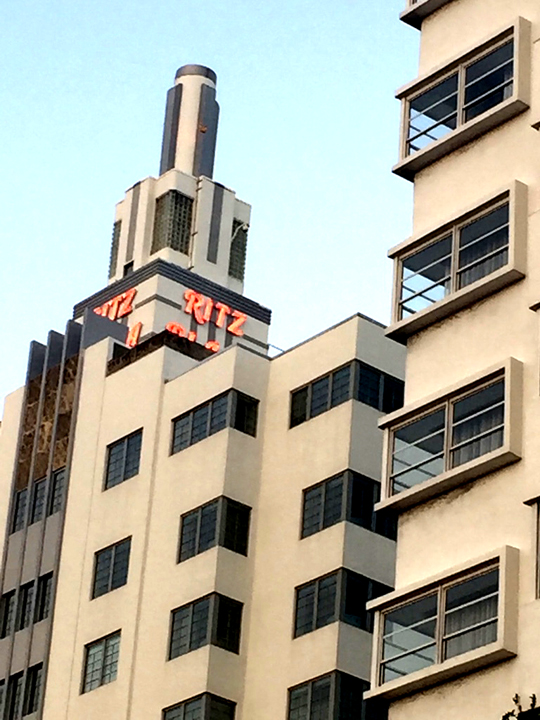 Ritz Miami. Photo courtesy Liz Gibson