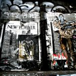 The New Yorker by Claudia Chan Shaw. Soho street.