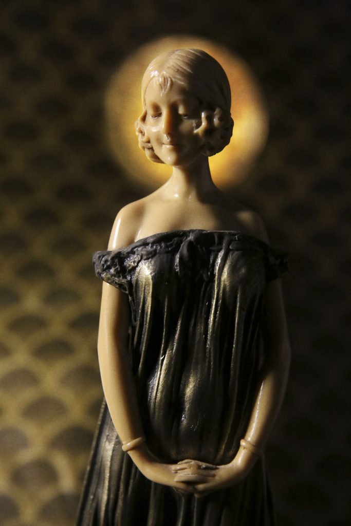 Photograph by Claudia Chan Shaw - Madonna. Photograph of Art Deco statue